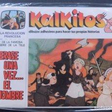 Juegos educativos: KALKITOS / ERASE UNA VEZ EL HOMBRE Nº 20 / LA REVOLUCION FRANCESA / AÑO 1979. Lote 142881530