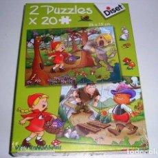 Juegos educativos: 2 PUZZLES X 48 PIEZAS DISET - ARTICULO NUEVO. Lote 122461103