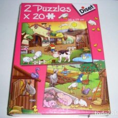 Juegos educativos: 2 PUZZLES X 48 PIEZAS DISET - ARTICULO NUEVO. Lote 122461551