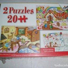 Juegos educativos: 2 PUZZLES 20 PIEZAS DISET - ARTICULO NUEVO. Lote 122461679