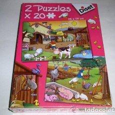 Juegos educativos: 2 PUZZLES X 48 PIEZAS DISET- ARTICULO NUEVO. Lote 122464199