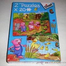 Juegos educativos: 2 PUZZLES X 48 PIEZAS DISET- ARTICULO NUEVO. Lote 122464475