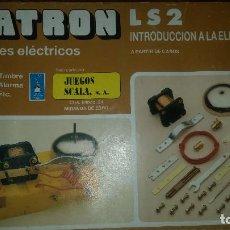 Juegos educativos: SCATRON 12 MONTAJES ELECTRICOS LS 2. Lote 122763231
