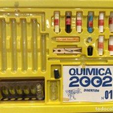 Juegos educativos: QUÍMICA DIVERTIDA 2002 AÑOS 70 FABRICANTE CEJI SIN ESTRENAR COMPLETO. Lote 123012442