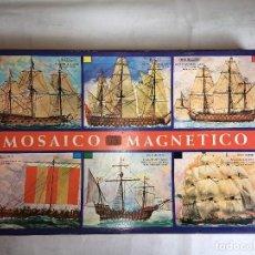 Juegos educativos: JUEGO MOSAICO MAGNETICO DE BARCOS. Lote 123544291