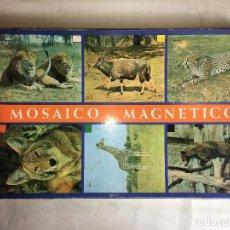 Juegos educativos: JUEGO MOSAICO MAGNETICO DE ANIMALES. Lote 123544743