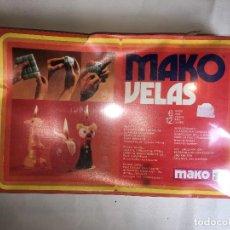 Juegos educativos: JUEGO MAKO VELAS. Lote 123820027