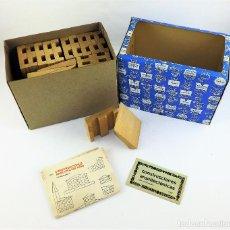 Juegos educativos: CONSTRUCCIONES ARQUITECTÓNICAS DE DIDACTA. Lote 124620819