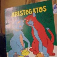 Juegos educativos: CUADERNO PARA COLOREAR PINTAR - ARISTOGATOS - DISNEY 1982 - ENVIO GRATIS. Lote 125148755