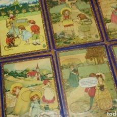 Juegos educativos: ANTIGUO JUEGO DE PREGUNTAS Y RESPUESTAS DE CULTURA GENERAL FORMADO POR 8 CARTONES. Lote 125726567