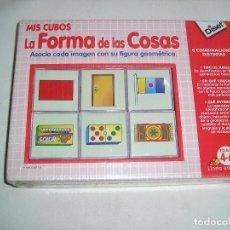 Juegos educativos: CUBOS LA FORMA DE LAS COSAS DISET MAS GASTOS ARTICULO NUEVO. Lote 126047395