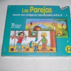 Juegos educativos: LAS PAREJAS DE 3 A 6 AÑOS DE DISET ARTICULO NUEVO. Lote 126048359