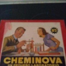 Juegos educativos: ANTIGUO JUEGO CHEMINOVA. Lote 126778031