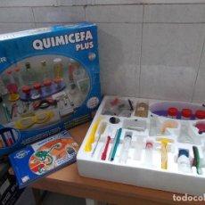 Juegos educativos: QUIMICEFA PLUS JUGUETE EDUCATIVO.MAS DE 150 EXPERIMENTOS. PARA JOVENES DE MAS DE 10 AÑOS. Lote 127349215