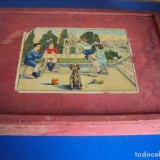 Juegos educativos: (JU-180700)ANTIGUO JUEGO DE MADERA CONSTRUCCION. Lote 127753139