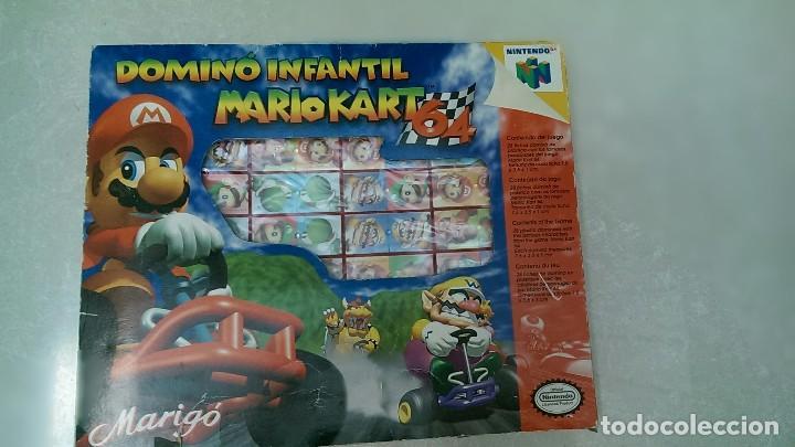 Domino Infantil Mario Kart 64 Comprar Juegos Educativos Antiguos