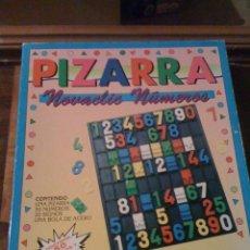 Juegos educativos: PIZARRA CON LETRAS Y NÚMEROS «DINOVA». Lote 128548683