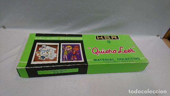 QUIERO LEER, AÑOS 70,H.S.R.,JUEGO EDUCATIVO (Juguetes - Juegos - Educativos)