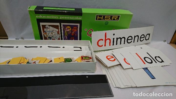 Juegos educativos: QUIERO LEER, AÑOS 70,H.S.R.,JUEGO EDUCATIVO - Foto 2 - 129014207