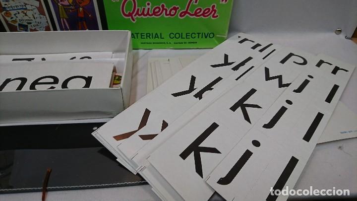 Juegos educativos: QUIERO LEER, AÑOS 70,H.S.R.,JUEGO EDUCATIVO - Foto 3 - 129014207