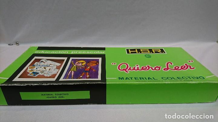 Juegos educativos: QUIERO LEER, AÑOS 70,H.S.R.,JUEGO EDUCATIVO - Foto 4 - 129014207
