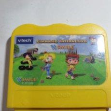 Juegos educativos: GIMNASIO INTERACTIVO (VTECH V.SMILE). Lote 129152187