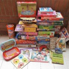 Juegos educativos: GIGANTESCO LOTE DE MAS DE 30 JUEGOS VARIOS, PUZZLES Y OTROS (TAL CUAL IMAGENES). Lote 129165467