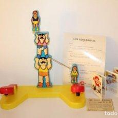 Juegos educativos: ANTIGUO JUEGO DE CONGOST - LOS EQUILIBRISTAS REF 1.305 MADE IN SPAIN - AÑO 72. Lote 129167183