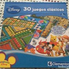 Juegos educativos: PLAYHOUSE DISNEY 30 JUEGOS CLASICOS CLEMENTONI 4+ AÑOS JUEGO DE MESA KREATEN BOARDGAMES. Lote 129476931
