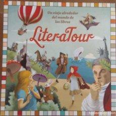 Juegos educativos: LITERATOUR, UN VIAJE ALREDEDOR DEL MUNDO DE LOS LIBROS - CIRCULO DE LECTORES - JUEGO. Lote 175851857