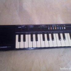 Juegos educativos: CASIO PT 1 PIANO ELECTRONICO AÑOS 80 FUNCIONANDO BIEN. Lote 130442166