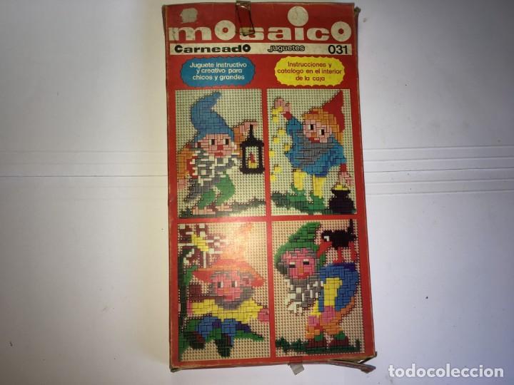 JUEGO MOSAICO DE JUGUETES CARNEADO (Juguetes - Juegos - Educativos)
