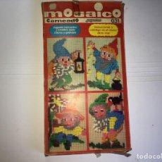 Juegos educativos: JUEGO MOSAICO DE JUGUETES CARNEADO. Lote 130538326