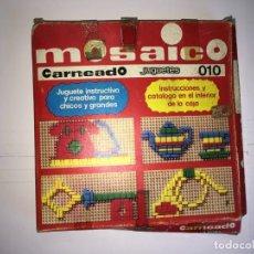 Juegos educativos: JUEGO MOSAICO DE JUGUETES CARNEADO. Lote 130538382