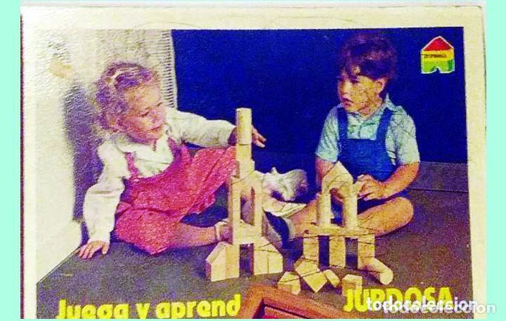 Juegos educativos: JUEGO DE CONSTRUCCION - JUEGA Y APRENDE -DE JUPDOSA. - Foto 2 - 131439010