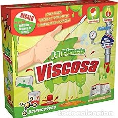 Juegos educativos: LA CIENCIA VISCOSA - SLIME. SCIENCE4YOU. Lote 131614375