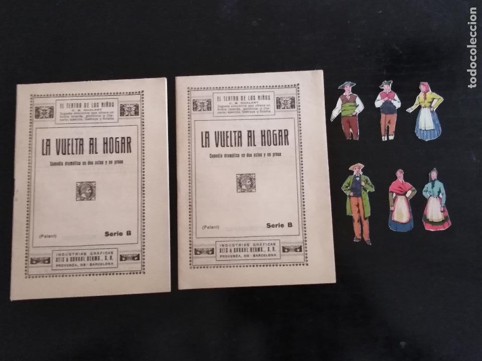 Juegos educativos: EL TEATRO DE LOS NIÑOS MODELO M SEIX & BARRAL (1918) - Foto 13 - 131654762