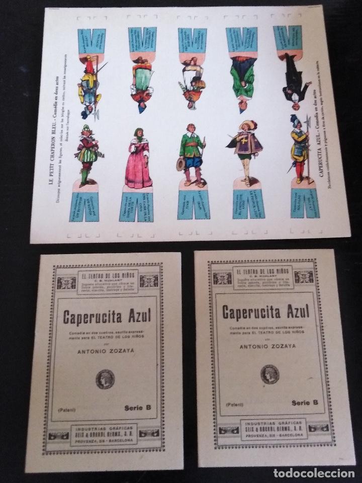 Juegos educativos: EL TEATRO DE LOS NIÑOS MODELO M SEIX & BARRAL (1918) - Foto 23 - 131654762