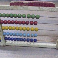 Juegos educativos: ANTIGUO JUEGO ABACO INFANTIL. MEDIDAS : 29,5 X 13 CM.. Lote 131775634