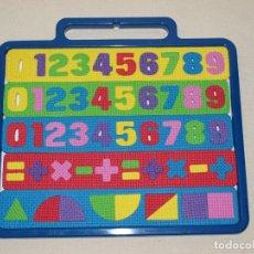 Juegos educativos: PIZARRA MAGNETICA CON NUMEROS Y OPERACIONES DE IMAN Y GOMA EVA. 32 X 25,5 CM. VER FOTOS Y DESCRIPCIO. Lote 131883258