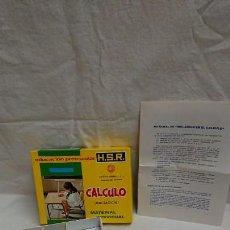 Juegos educativos: JUEGO EDUCATIVO EDUCACIÓN PREESCOLAR CÁLCULO HIJOS DE SANTIAGO RODRÍGUEZ AÑO 1974. Lote 132134198