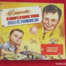 Juegos educativos: EL PEQUEÑO CONSTRUCTOR MECANICO - RAMON SABATES. Lote 132200398