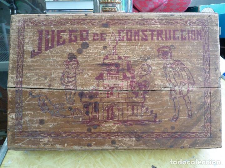 Juegos educativos: ANTIGUO JUEGO DE CONSTRUCCION EN MADERA PROBABLEMENTE DE ENTRE LOS AÑOS 60 Y 70 - Foto 2 - 133025546