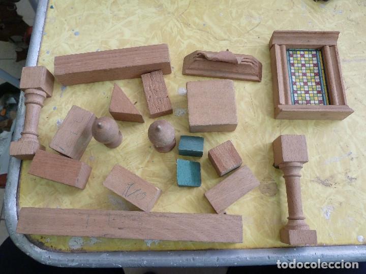 Juegos educativos: ANTIGUO JUEGO DE CONSTRUCCION EN MADERA PROBABLEMENTE DE ENTRE LOS AÑOS 60 Y 70 - Foto 14 - 133025546