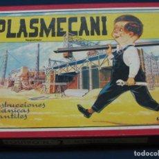 Juegos educativos: PLASMECANI. EQUIPO Nº 2. CONSTRUCCIONES MECÁNICAS INFANTILES. DINATRÓN. VALENCIA AÑO 1963. Lote 133364266