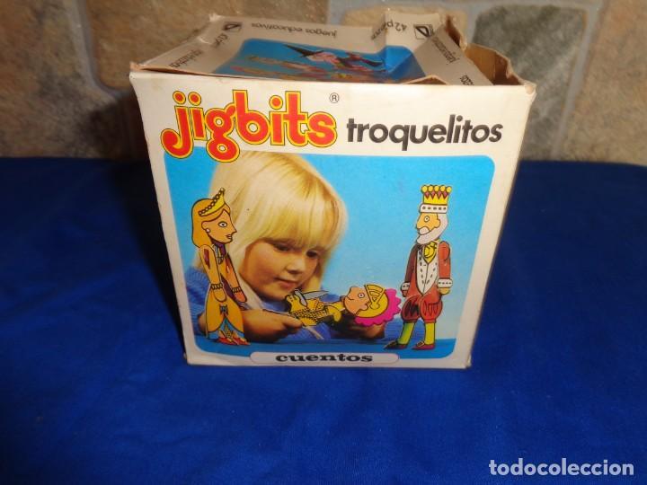 JIGBITS TROQUELITOS - JUEGO EDUCATIVO TEMÁTICA CUENTOS,AÑO 1975 DIAGONAL MADE IN SPAIN VER FOTOS! SM (Juguetes - Juegos - Educativos)