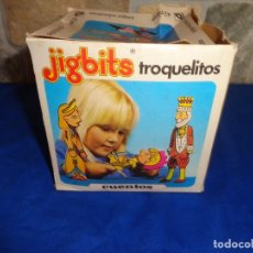 Juegos educativos: JIGBITS TROQUELITOS - JUEGO EDUCATIVO TEMÁTICA CUENTOS,AÑO 1975 DIAGONAL MADE IN SPAIN VER FOTOS! SM. Lote 133584534