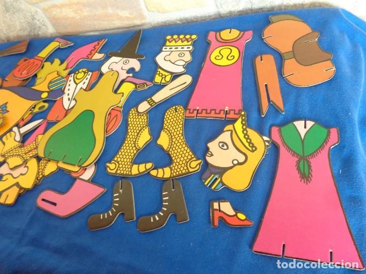 Juegos educativos: JIGBITS TROQUELITOS - JUEGO EDUCATIVO TEMÁTICA CUENTOS,AÑO 1975 DIAGONAL MADE IN SPAIN VER FOTOS! SM - Foto 3 - 133584534