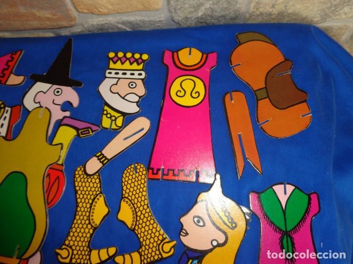 Juegos educativos: JIGBITS TROQUELITOS - JUEGO EDUCATIVO TEMÁTICA CUENTOS,AÑO 1975 DIAGONAL MADE IN SPAIN VER FOTOS! SM - Foto 7 - 133584534