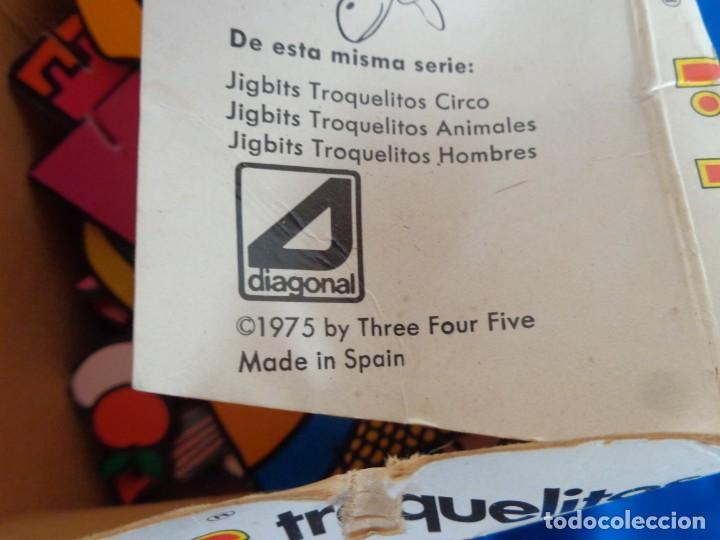 Juegos educativos: JIGBITS TROQUELITOS - JUEGO EDUCATIVO TEMÁTICA CUENTOS,AÑO 1975 DIAGONAL MADE IN SPAIN VER FOTOS! SM - Foto 14 - 133584534